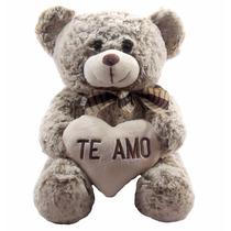 Urso De Pelúcia Te Amo 40cm Ursinho Original Fofy Toys