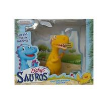 Boneco Dinossauro Infantil Allossauro Baby (amarelo)