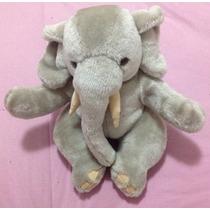 Bichinho Pelúcia Coleção Parmalat Elefante Brinquedo