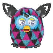 Furby Boom Pink/preto E Azul
