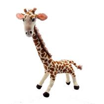 Girafa Grande Bicho De Pelúcia Safari