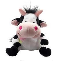 Vaquinha Que Treme E Ri Laço Vaca Bicho Pelucia Presentes