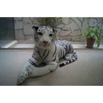 Kit Contendo Tigre Branco 1,08m + Onça 60cm + Tigre De 60cm