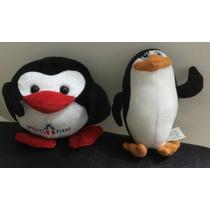 Pinguins Pelúcia Mc Donalds Madagascar E Lightoys