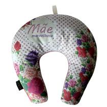 Almofada Travesseiro Apoio Para Pescoço - Mãe Maravilhosa