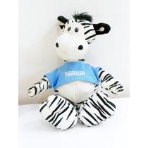 Zebra De Pelúcia Nestlé Filhote Galera Animal #brechodacris