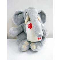Bicho Pelúcia Elefante Mamíferos Parmalat #brechodacris