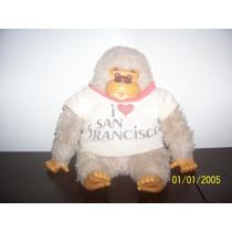 Antiga Pelúcia De Gorila Estilo Macaco Murfy Da Estrela