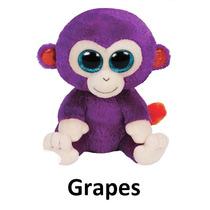 Beanie Boos Pelúcias - Macaco - Grapes - Ty Dtc
