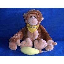 Macaco Coleção Bicho Estressado Santado Ccl Toys Funcionando
