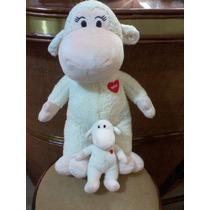 Coleção Mãe E Filho Nestlé (ovelha) Lindos E Fofos Macios