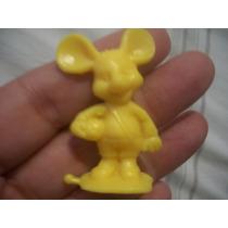 Boneco Topo Gigio Plastico Para Colecionador 4,5 Cm Anos 70