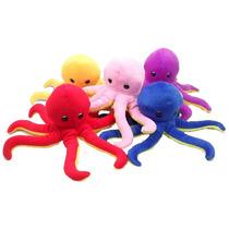 Polvo Paul P 8 Tentáculos Bicho Pelucia Brinquedo Decoração
