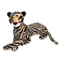 Tigre Pelucia Listrada 65cm Deitado Zoo Antialergico Unisex