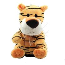 Pelucia Cofre Animais Tigre Presente, Brinquedos, Lembranças