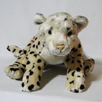 Filhote Onça / Leopardo De Pelúcia Real - Safari