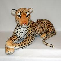 Onça De Pelúcia Real - Safari - 70cm