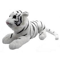Tigre Branco Bengala Extra Macio Safari Zoológico
