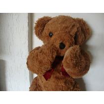 Urso Ted Bear Corpo Articulado De Pelucia 45cm