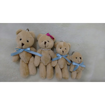 Família Mini Urso 4 Unidades