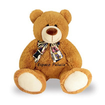 Urso Tobias De Pelucia 76cm Frete Gratis