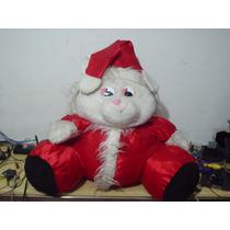 Pelucia Urso Papai Noel Gigante 77 Cm Sem Levantar O Gorro
