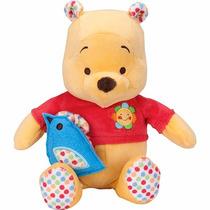 Ursinho De Pelúcia Pooh Musical Disney Buba Toys