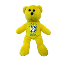 Brasil Peluche - Urso Mini Sólidos Football Fan Peluches Br