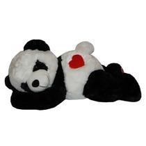 Urso Panda De Pelúcia Deitado / Ursinho Fofo