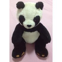 Bichinho Pelúcia Coleção Parmalat Urso Panda Brinquedo