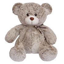 Urso De Pelúcia 40cm Sentado - Grande