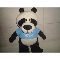 Urso Panda Pelúcia Coleção Filhotes Da Nestlé - Mede Cm.30.