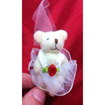 Mini Urso. Pelúcia Noiva.