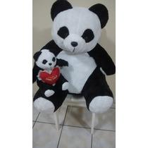Urso Pelucia Gigante + Brinde. Pelucias Ursos Panda Grande