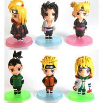 Action Figure - Coleção Naruto Chibi 6pçs
