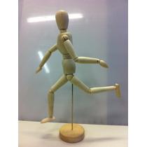 Boneco Manequin Articulado De Madeira Mangá - Anime 30cm