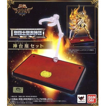 Cloth Myth Ex God Display Set Bandai Soul Of Gold Bandai