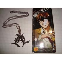 Colar Anime Death Note - Novo E Importado