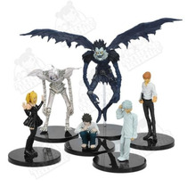 Death Note Action Figure Boneco Raito Near L Ryuk Rem Misa