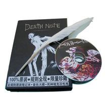 Death Note Kit Caderno+ Cd + Pena Pronta Entrega Anime