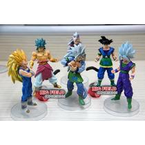Kit Bonecos Dragon Ball Z Goku Kaioshin Riqueza De Detalhes!