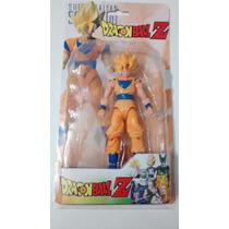 Dragon Ball Z - Boneco Articulado Goku + Itens Para Troca
