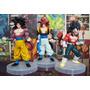 Dragon Ball Gt - Bonecos - Goku E Vegeta Ssj4 E Fusão Gogeta