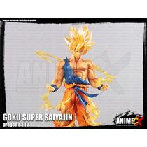Goku Super Saiyajin - Dragon Ball Z - Estatueta Decorativa