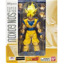 Boneco Goku Super Saiyajin Dragon Ball Z Original Bandai
