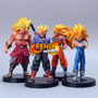 Coleções Dragon Ball Bonecos Kit Dragon Ball Goku Vegeta Z