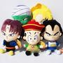 Kit De 5 Bonecos Animes Dragon Ball Z De Pelúcia