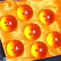 Kit C/ 7 Esferas Do Dragão Na Caixa - Anime Dragon Ball Z