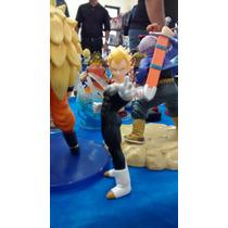 Dragon Ball Z Vegeta Ssj Boneco Original Bandai Gashapon