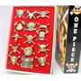 Kit De Broches One Piece 15pcs Luffy Zoro Nami Sanji Usopp